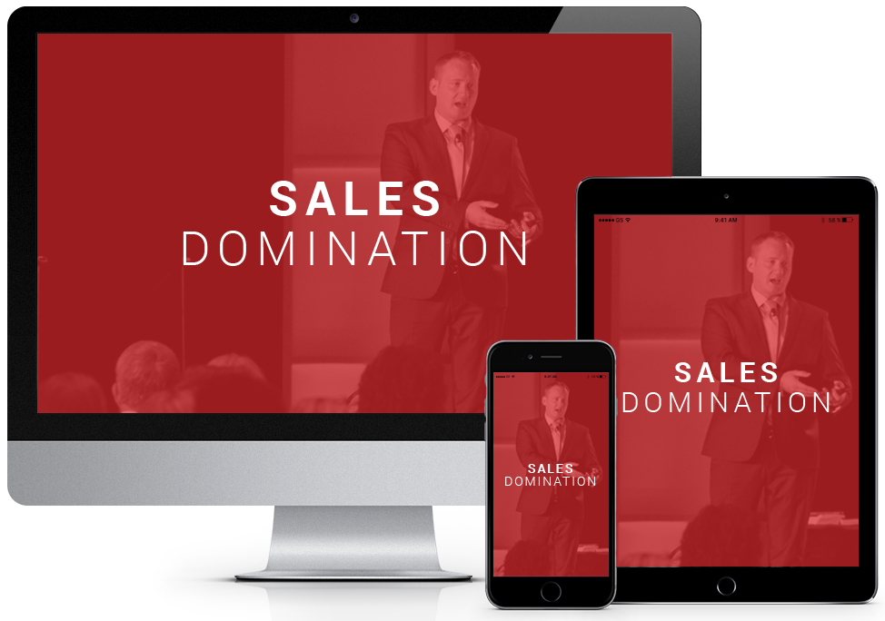 Sales Domination Audio Training