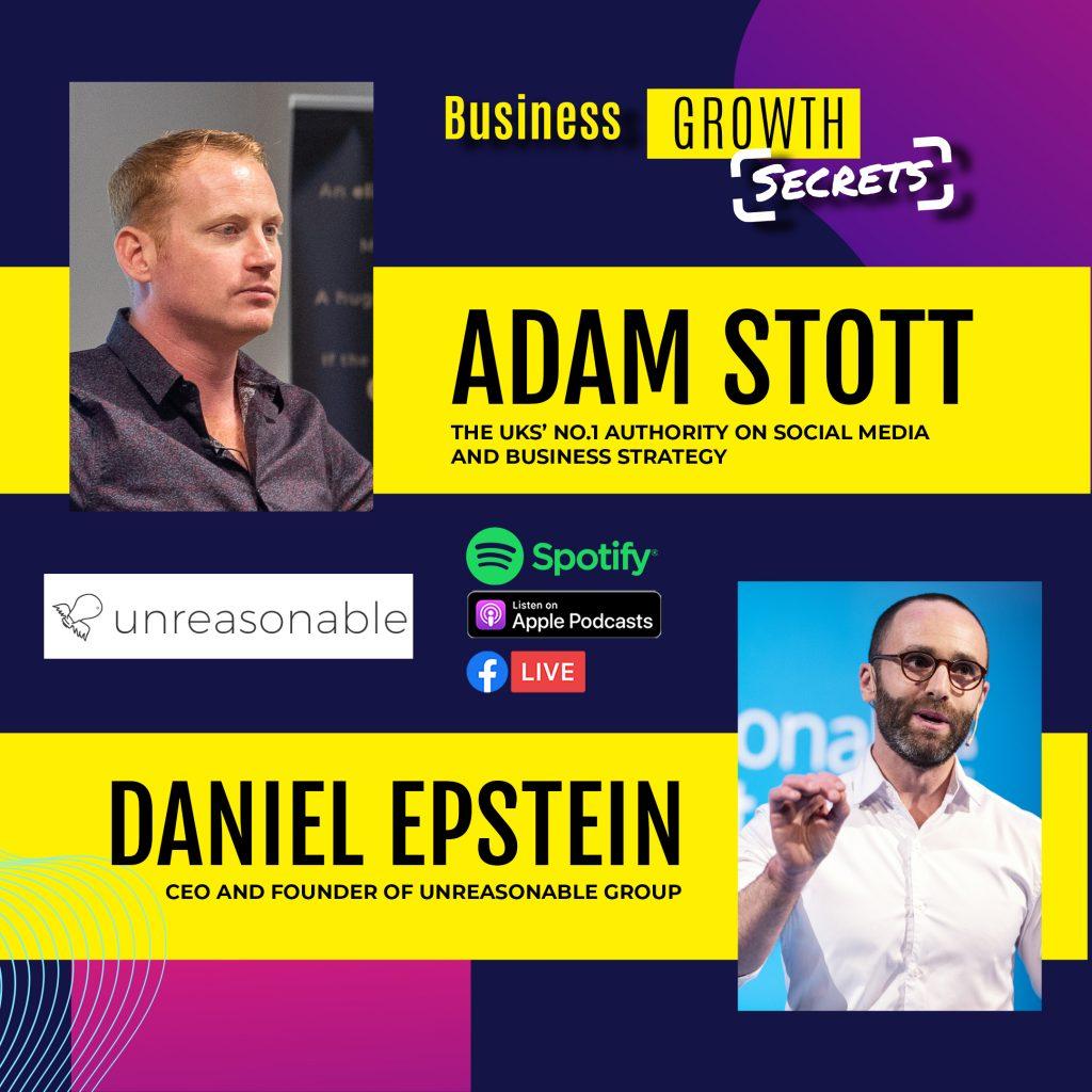 Adam Stott Daniel Epstein Podcast