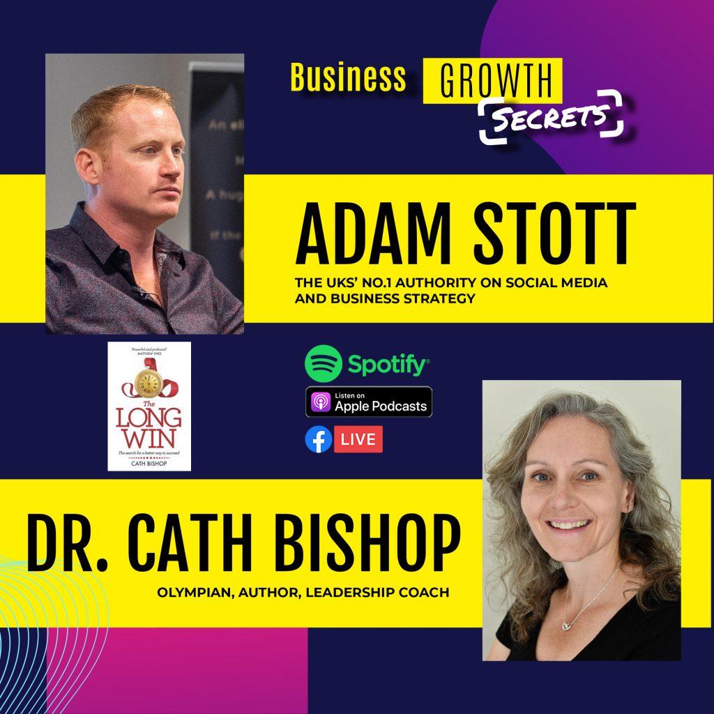 Adam Stott Dr. Cath Bishop
