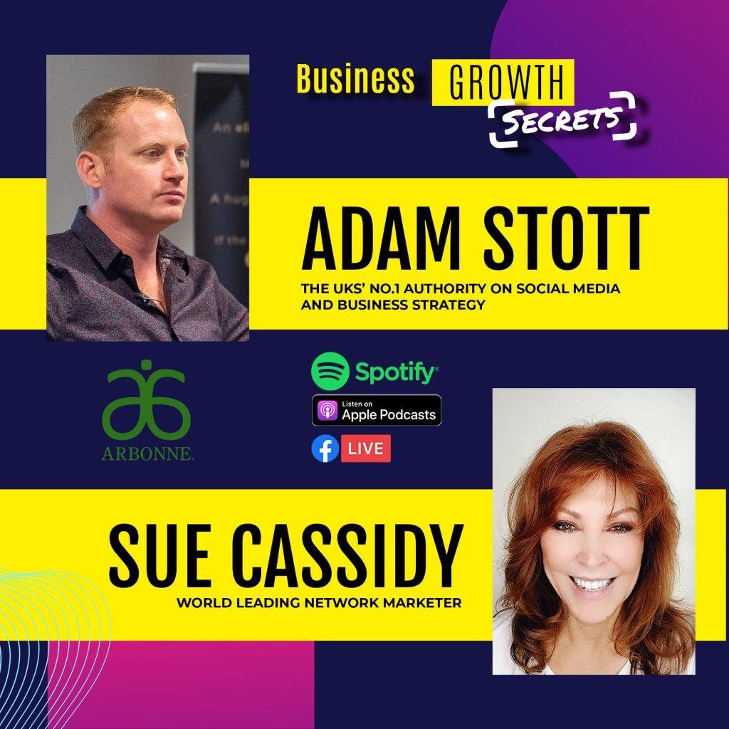 Adam Stott Sue Cassidy Podcast
