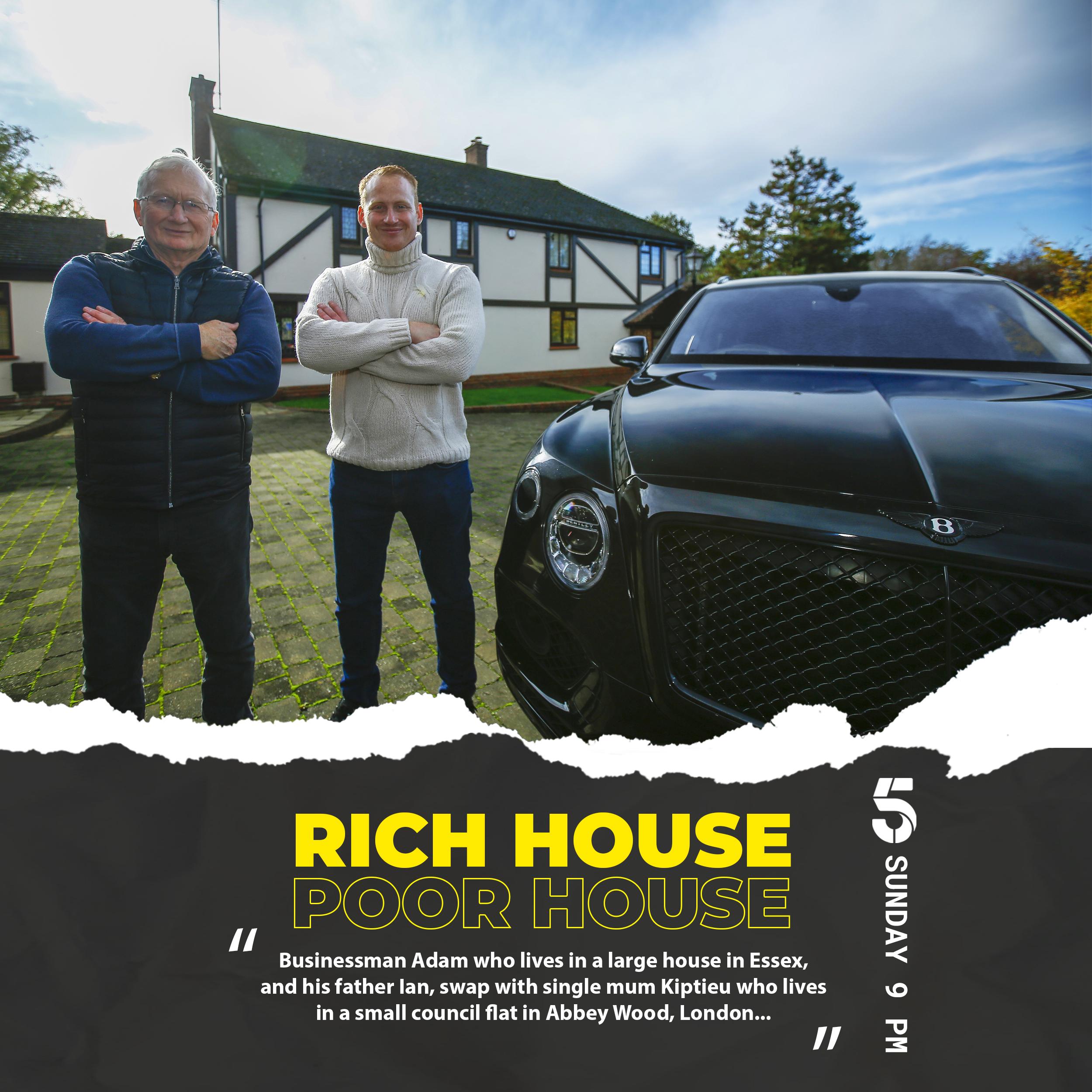 Adam Stott Rich House Poor House