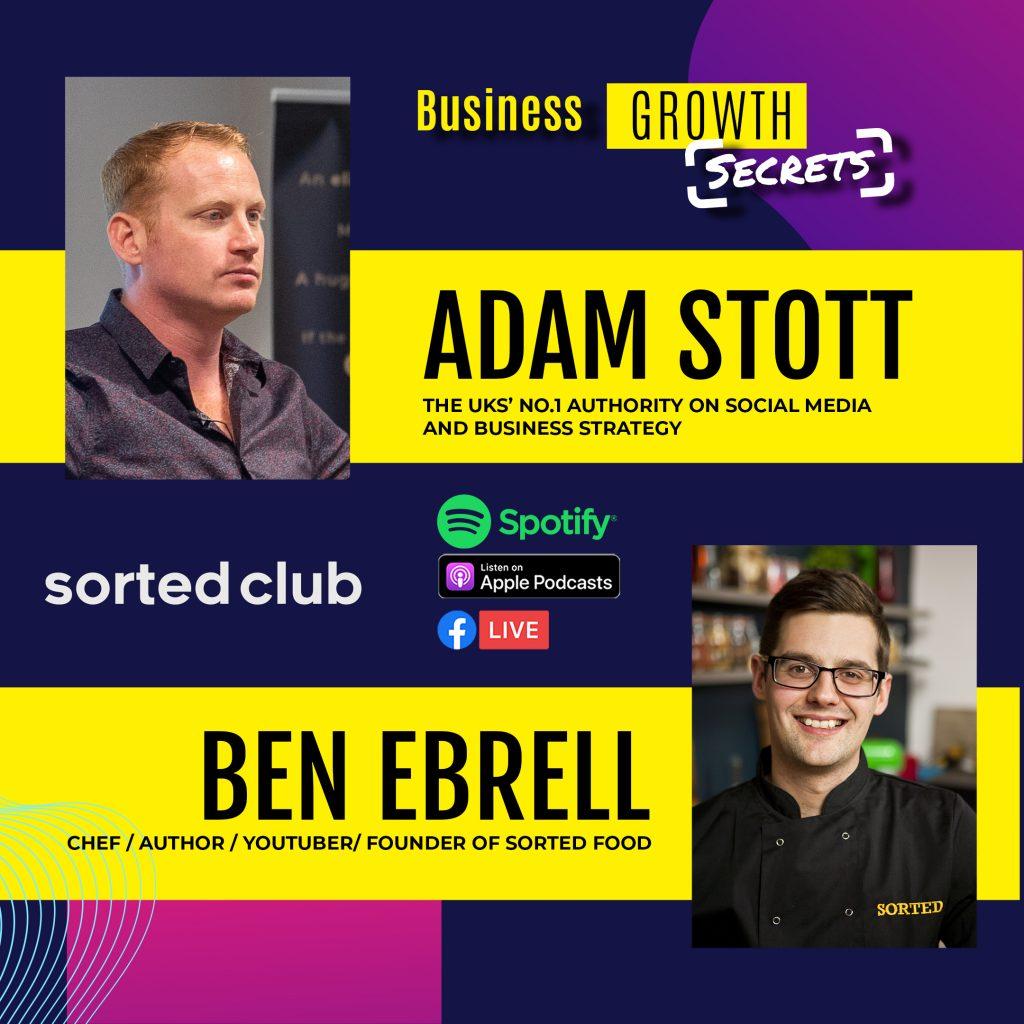 Adam Stott Ben Ebrell Podcast