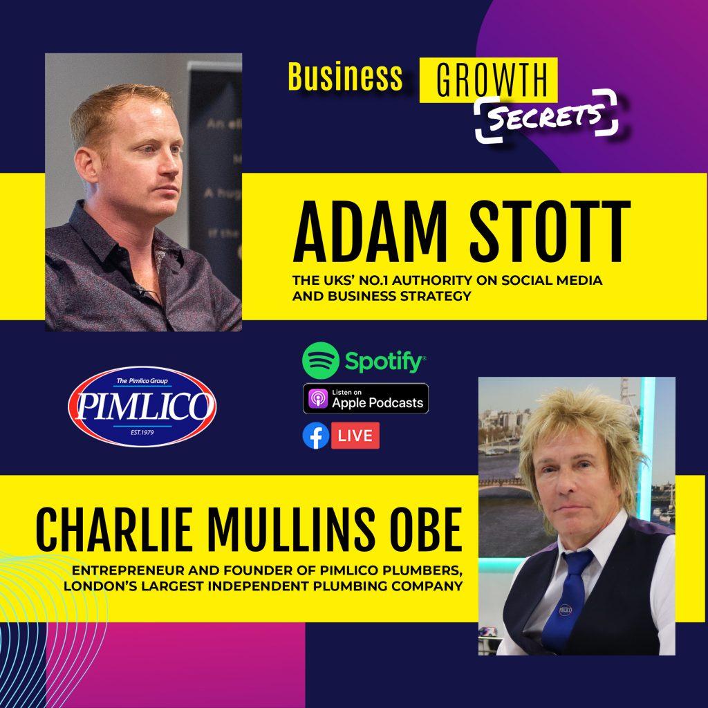Adam Stott Charlie Mullins Podcast