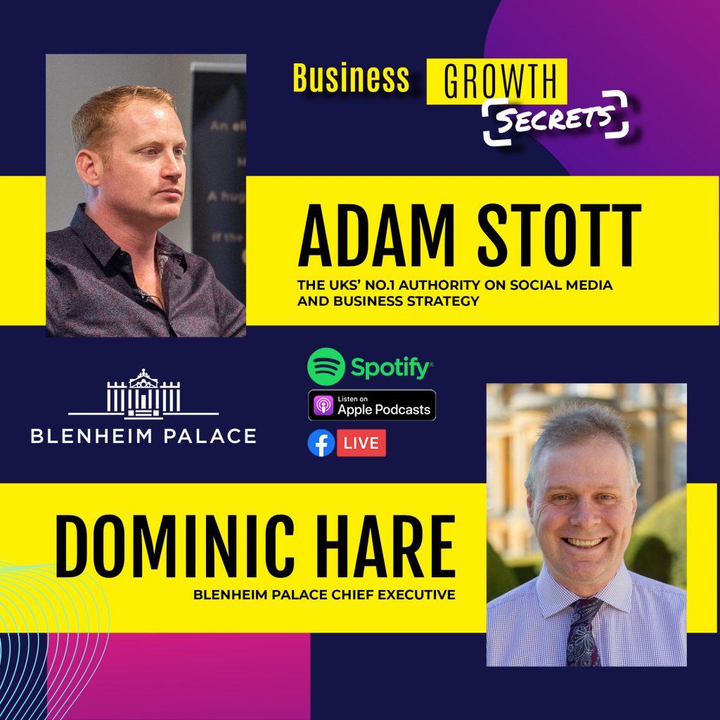 Adam Stott Dominic Hare Podcast